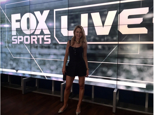 Caroline Pearce Joins Fox Sports