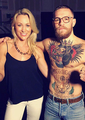 Caroline Pearce Exclusive interview with Conor McGregor