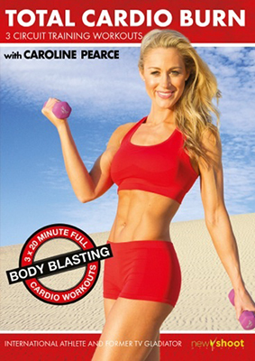 Caroline Pearce DVD, Total Cardio Burn