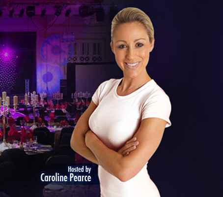 CAROLINE HOSTS THE FOURTH NATIONAL FITNESS AWARDS